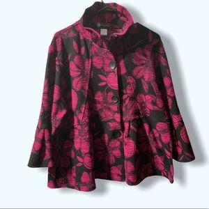 NWOT  Damee Inc Print Jacket
